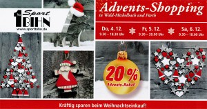 Adventsshopping