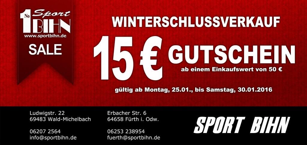 15 € WSV-Gutschein