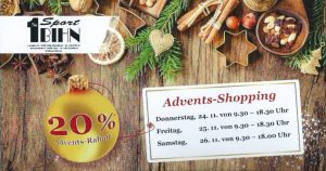 Advents-Shopping 2016